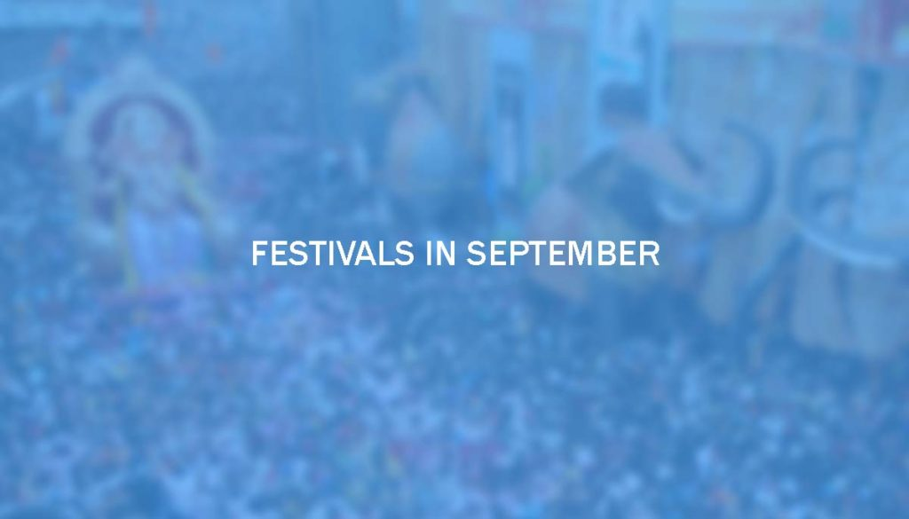Festivals in September