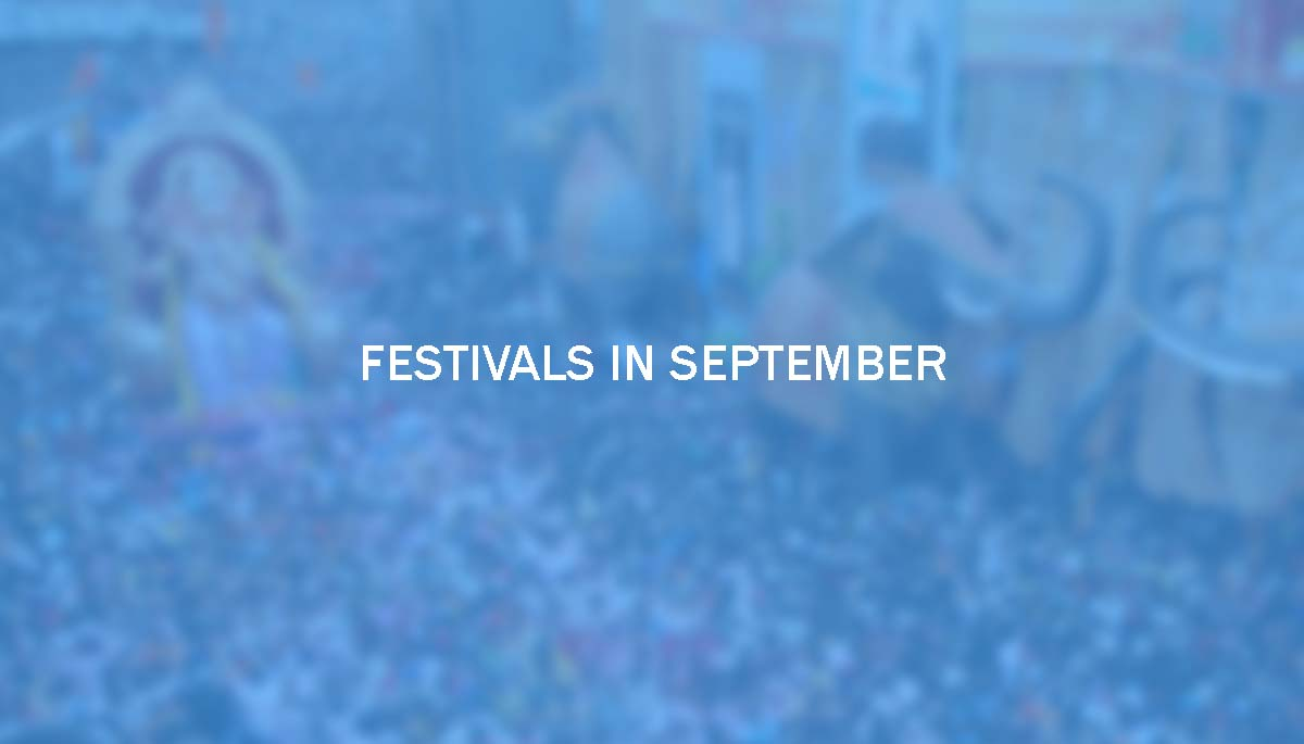Festivals in September